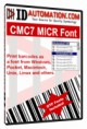 IDAutomation MICR CMC-7 Fonts