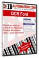 IDAutomation OCR-A and OCR-B Font Advantage Packag