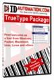 IDAutomation TrueType Barcode Font Advantage